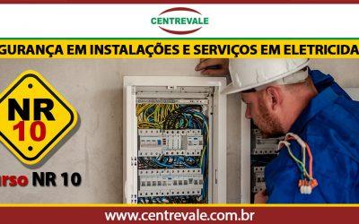 Curso de NR10-EAD-Treis Rios /RJ-CENTREVALE
